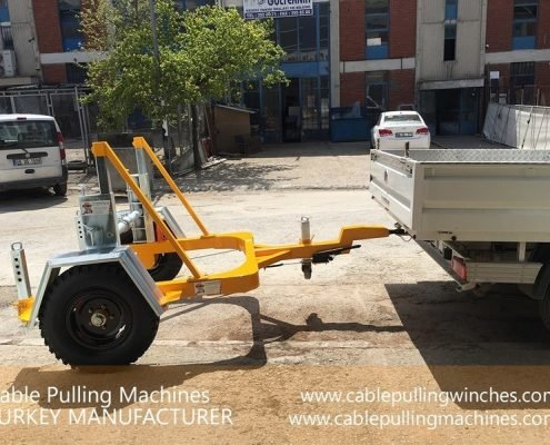 Cable Drum Trailer cable pulling machines Cable Pulling Machines and Cable Drum Trailers Manufacturer! Cable Pulling Machines 100 1 495x400