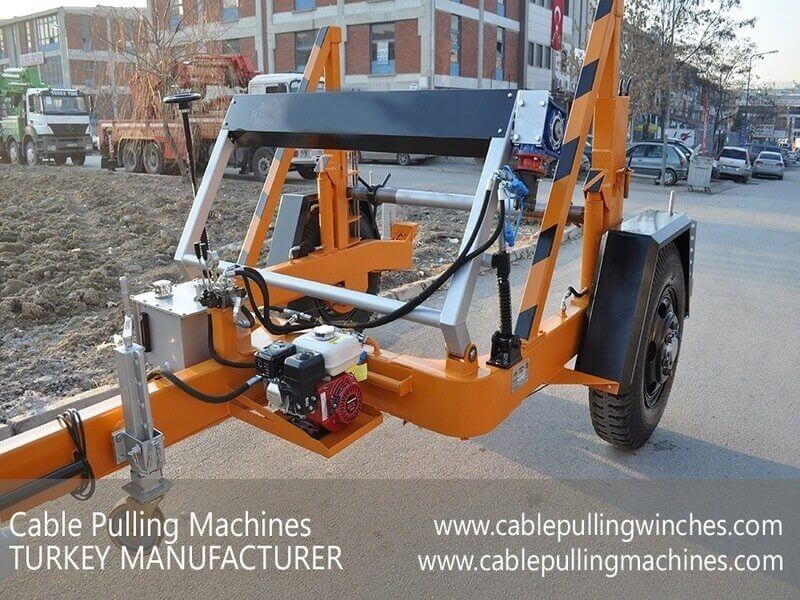 Cable Pulling Machines, Cable Pulling Winches, Cable Drum Trailers