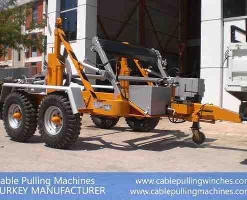 Cable Drum Trailer cable pulling machines Cable Pulling Machines and Cable Drum Trailers Manufacturer! Cable Pulling Machines 109 1 495x400
