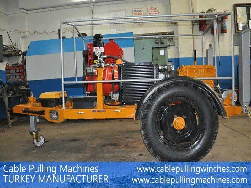 Cable puller winch cable puller winch The best effective way of pulling cables, cable puller winch Cable Pulling Machines 112 1