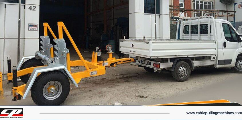 Cable Drum Trailers Romork hydraulic cable drum trailer Hydraulic Cable Drum Trailer 7TON Cable Drum Trailers Romork 1 1