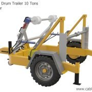 Full Hydraulic Cable Drum Trailer 10 Tons Manucafturer Turkey 2 cable drum trailer The features of the Cable Drum Trailer Manufacturer Full Hydraulic Cable Drum Trailer 10 Tons Manucafturer Turkey 2 180x180