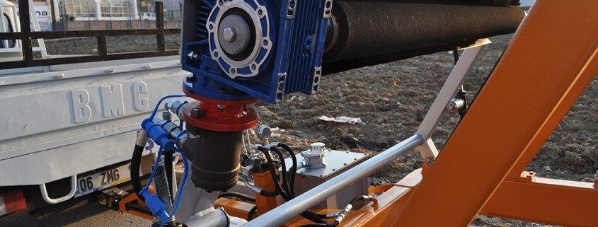 Full Hydraulic Cable Drum Trailers Manufacturer مقطورات بكرة الكابل الهيدروليكية الكاملة مقطورة بكرة الكابل الهيدروليكية الكاملة 7 طن Full Hydraulic Cable Drum Trailers Manufacturer 01 845x321