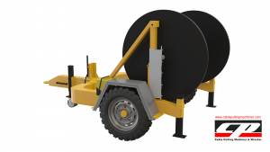 hydraulic cable drum trailers Hydraulic Cable Drum Trailers 4TON Hydraulic Drum Trailer Manufacturer 4 Tons 5 300x169