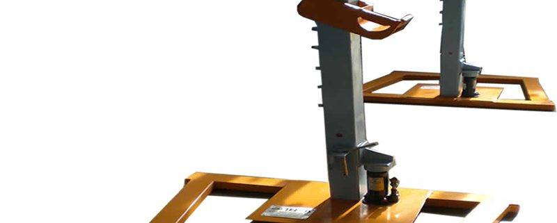 hydraulic-cable-drum-jack-5tons cable drum stands What are cable drum stands used for Hydraulic cable drum jack 5Tons 800x321