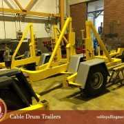 cable drum trailers manufacturer  Cable Pulling Machines- a benefit to all projects Cable Drum Trailers Manufacturer 180x180