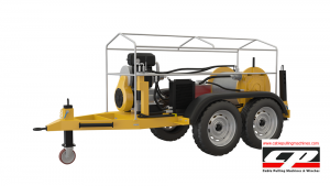 cable pulling machines HYDRAULIC CABLE PULLING MACHINE 12-15 TONS Cable Pulling Winches Manufacturer Turkey 3 300x169