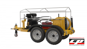 cable pulling machines HYDRAULIC CABLE PULLING MACHINE 12-15 TONS Cable Pulling Winches Manufacturer Turkey 4 300x169