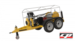 cable pulling machines HYDRAULIC CABLE PULLING MACHINE 12-15 TONS Cable Pulling Winches Manufacturer Turkey 5 300x169