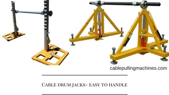 Cable Drum Jacks cable drum jacks Cable drum jacks- easy to handle Cable Drum Jacks
