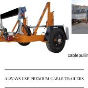 Cable Drum Trailers cable drum trailers Cable Drum trailers is it a good choice to make Cable Trailer 180x180