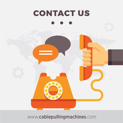 cable pulling machines contact us