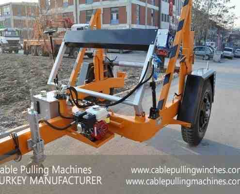 Cable Drum Trailer cable pulling machines Cable Pulling Machines and Cable Drum Trailers Manufacturer! Cable Pulling Machines 101 1 495x400