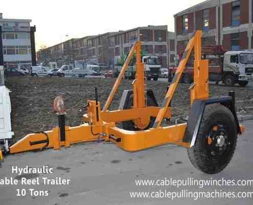 Cable Drum Trailer cable pulling machines Cable Pulling Machines and Cable Drum Trailers Manufacturer! Cable Pulling Machines 103 1 495x400