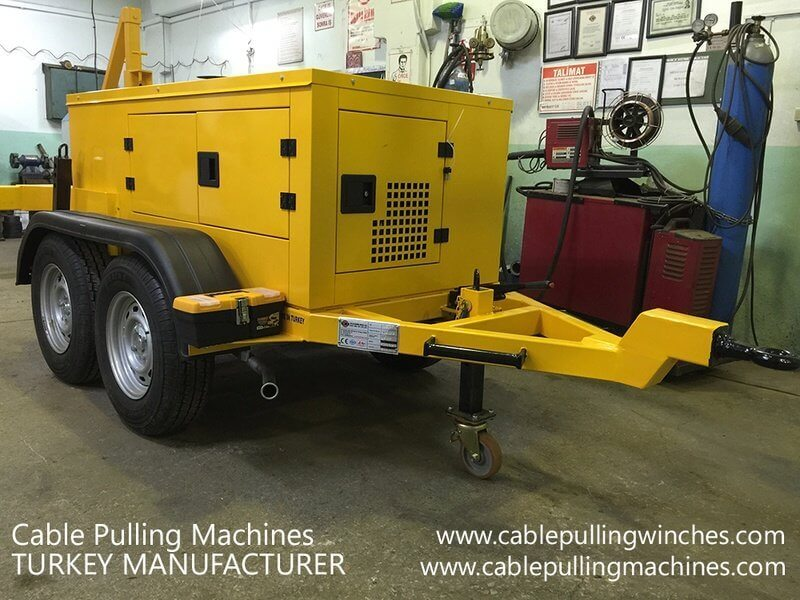 Hydraulic Cable Pulling Winches hydraulic cable pulling winches Hydraulic Cable Pulling Winches and how they are operated Cable Pulling Machines 106 1