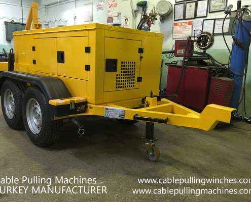 Cable Pulling Winches  كابل آلات سحب وكابل الطبل المقطورات الصانع Cable Pulling Machines 106 495x400