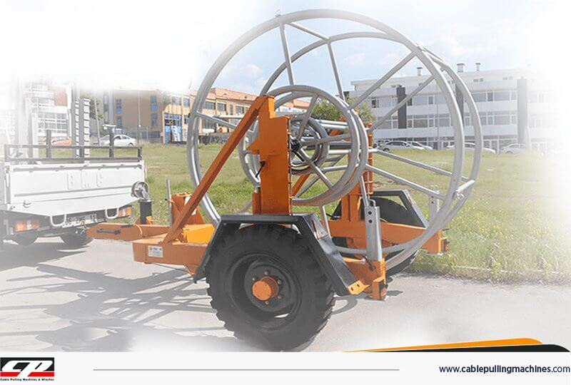 Cable Drum Trailers 4 Tons hydraulic cable drum trailers Hydraulic Cable Drum Trailers 4TON Cable Drum Trailers 4 Tons