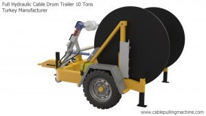 Full Hydraulic Cable Drum Trailer 10 Tons Manucafturer Turkey 5 full hydraulic cable drum trailers Full Hydraulic Cable Drum Trailers AUTO10 Full Hydraulic Cable Drum Trailer 10 Tons Manucafturer Turkey 5 300x169