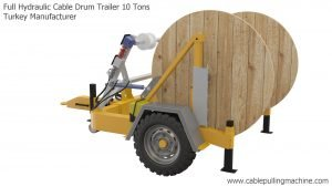 Full Hydraulic Cable Drum Trailer 10 Tons Manucafturer Turkey 8 full hydraulic cable drum trailers Full Hydraulic Cable Drum Trailers AUTO10 Full Hydraulic Cable Drum Trailer 10 Tons Manucafturer Turkey 8 300x169