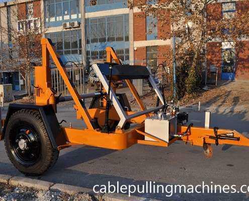 Full Hydraulic Cable Drum Trailers Manufacturer  كابل آلات سحب وكابل الطبل المقطورات الصانع Full Hydraulic Cable Drum Trailers Manufacturer 04 495x400