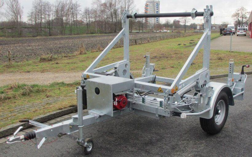 Hydraulic Cable Drum Trailers hydraulic cable drum trailers Hydraulic Cable Drum Trailers Hydraulic Cable Drum Trailers
