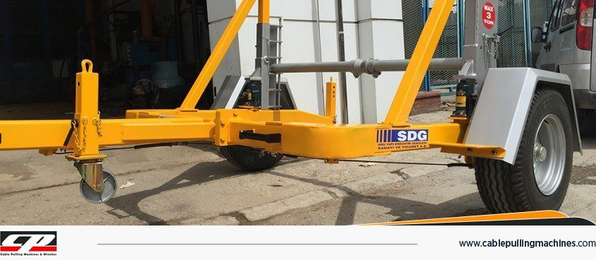 Manual Drum Trailers mechanic cable drum trailer Mechanic Cable Drum Trailer Manual Drum Trailers