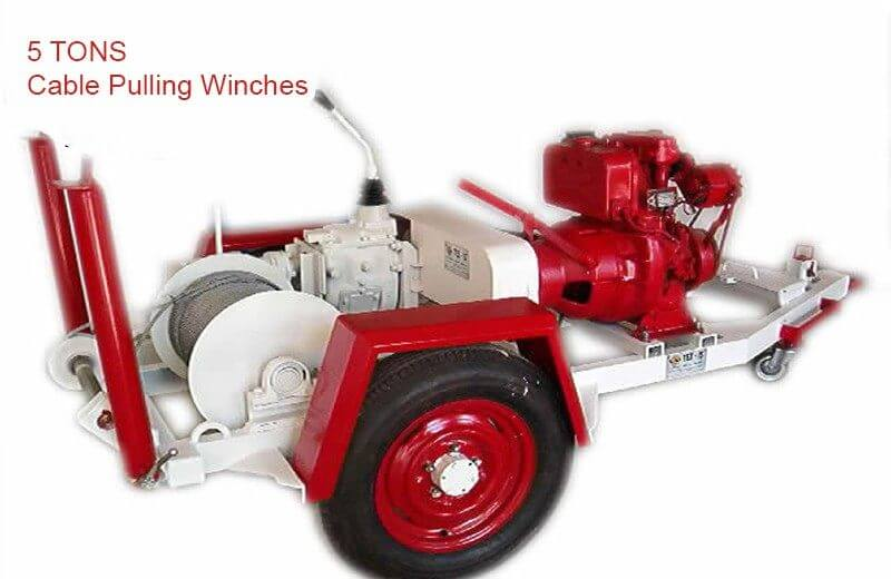 diesel-engine mechanic cable pulling winches mechanic cable pulling winches Mechanic Cable Pulling Winches diesel engine cable pulling winche machines