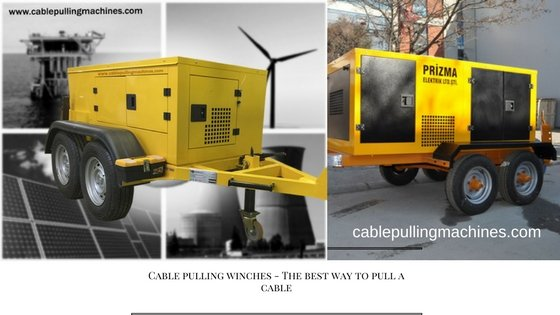 Cable Pulling Winches cable pulling winches Cable pulling winches – The best way to pull a cable Cable Pulling Winches