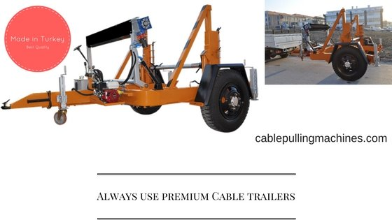 Cable Drum Trailers cable drum trailers Cable Drum trailers is it a good choice to make Cable Trailer