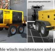 Cable Winch cable winch Cable winch maintenance and care Cable Winch 180x180